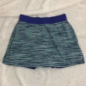TAIL Activewear Aqua Blue Skirt / Skort / Shorts